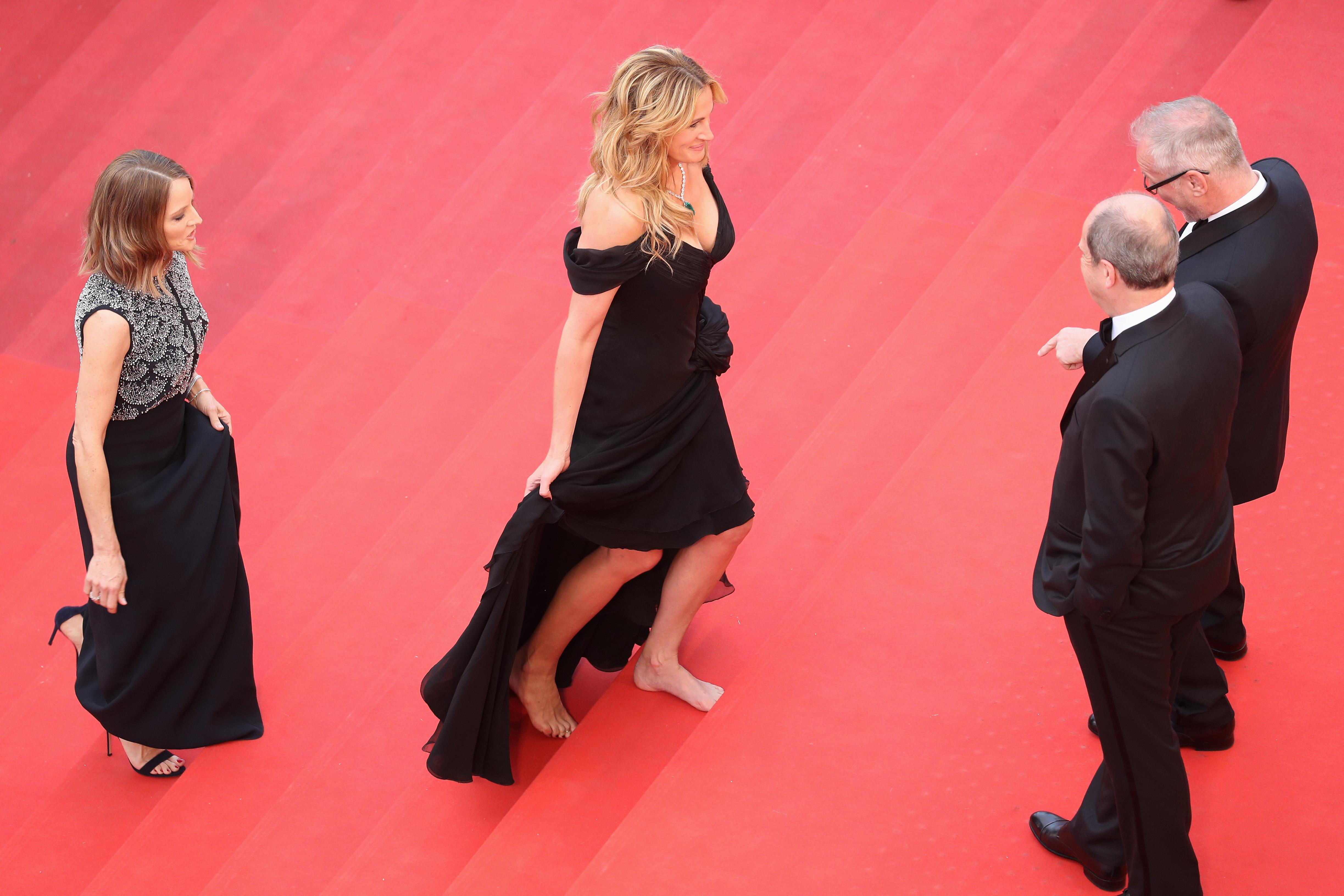 Джулия Робертс на Каннском кинофестивале в 2016 году