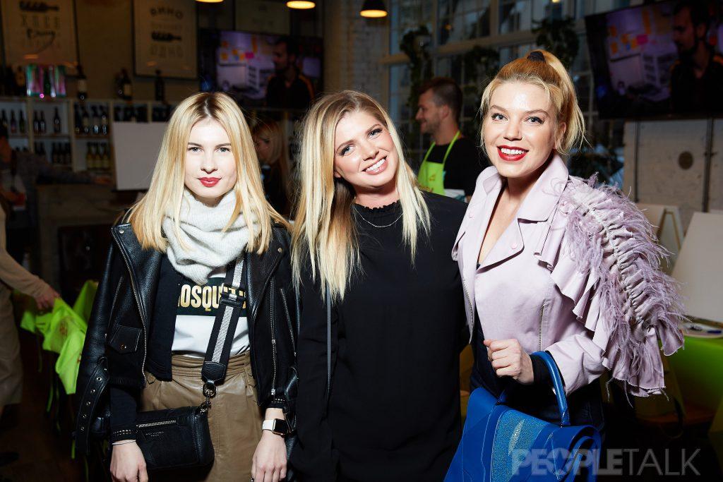 Анна Цуканова-Котт, Анастасия Задорожная и Липа Тетерич