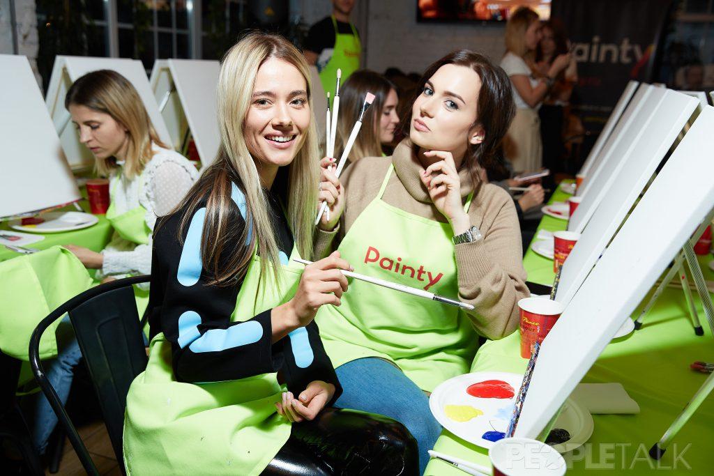Юлия Паршута и Юлия Лысенко