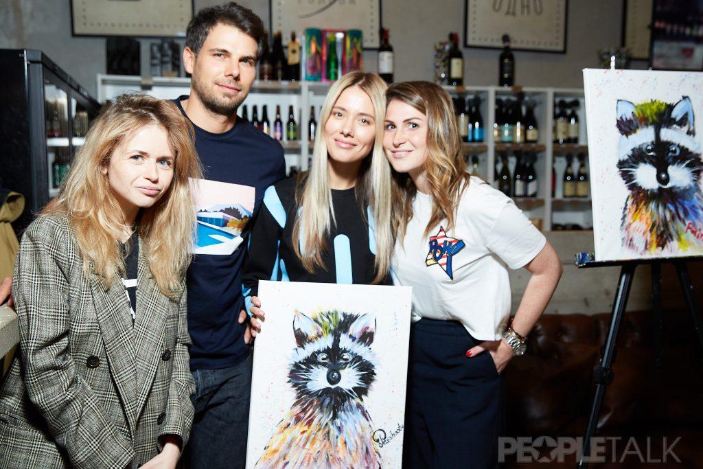 Ната Ворник, Дмитрий Анисимов, Юлия Паршута и Лаура Джугелия