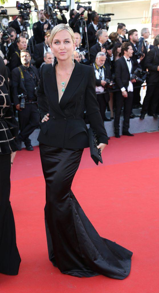 Дарья Янина в платье Yanina Couture