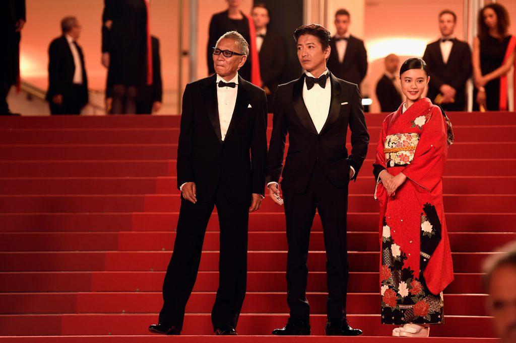 Такаси Миике, Такуя Кимура и Хана Сугисаки