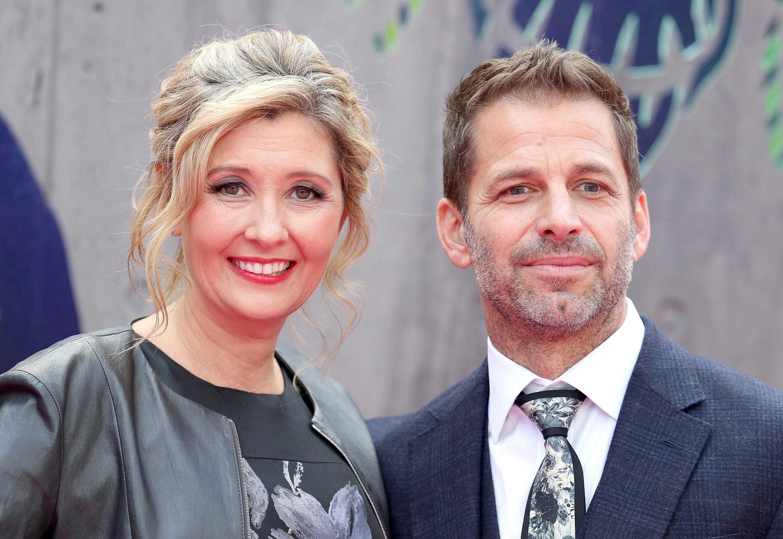 Зак Снайдер с женой Деборой
