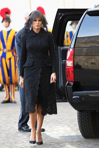 Мелания Трамп в Dolce & Gabbana