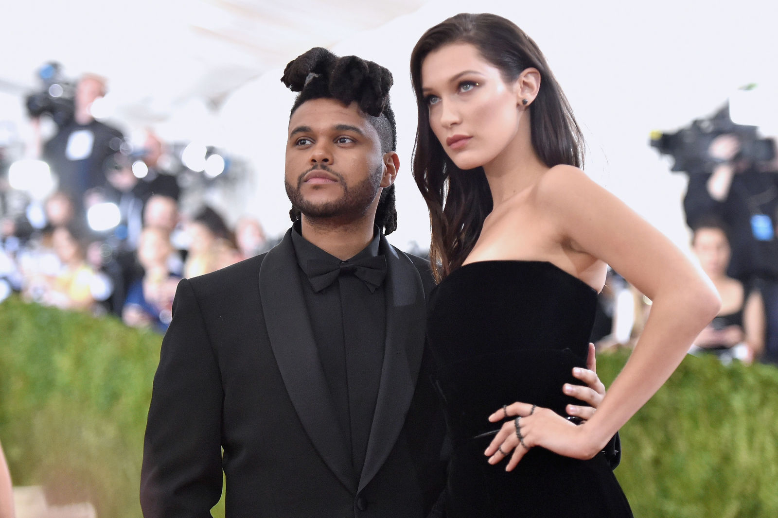 the Weeknd и Белла Хадид
