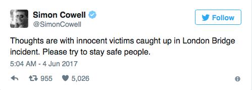 Мои мысли со всеми невинными погибшими в Лондоне. Будьте в безопасности, люди!