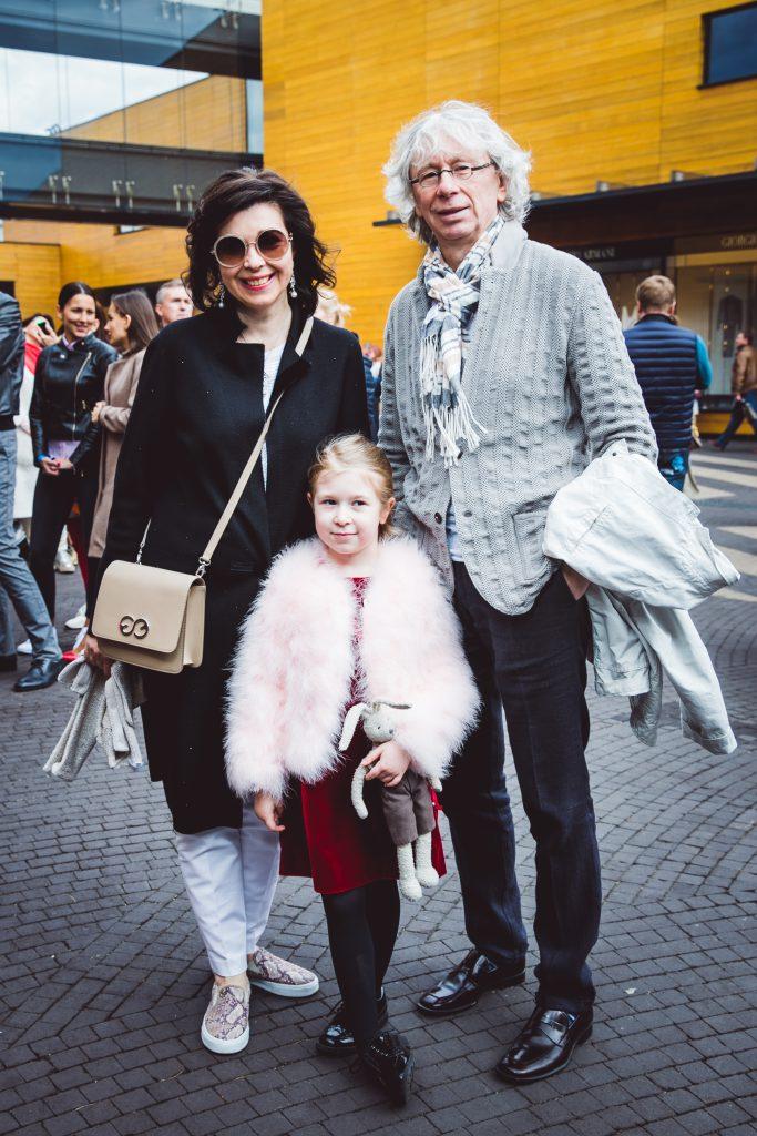 Наталья и Аркадий Укупник с дочерью