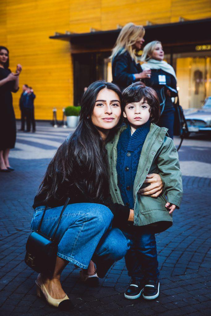 Тамуна Циклаури с сыном Адамом