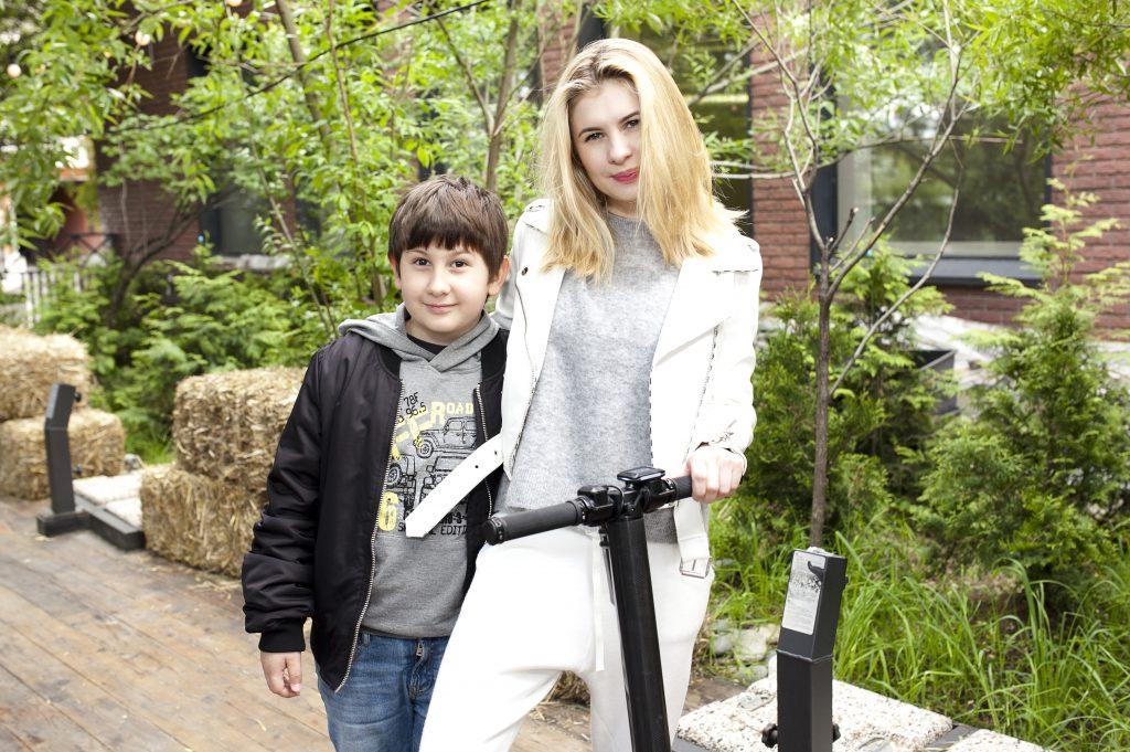 Анна Цуканова-Котт с сыном