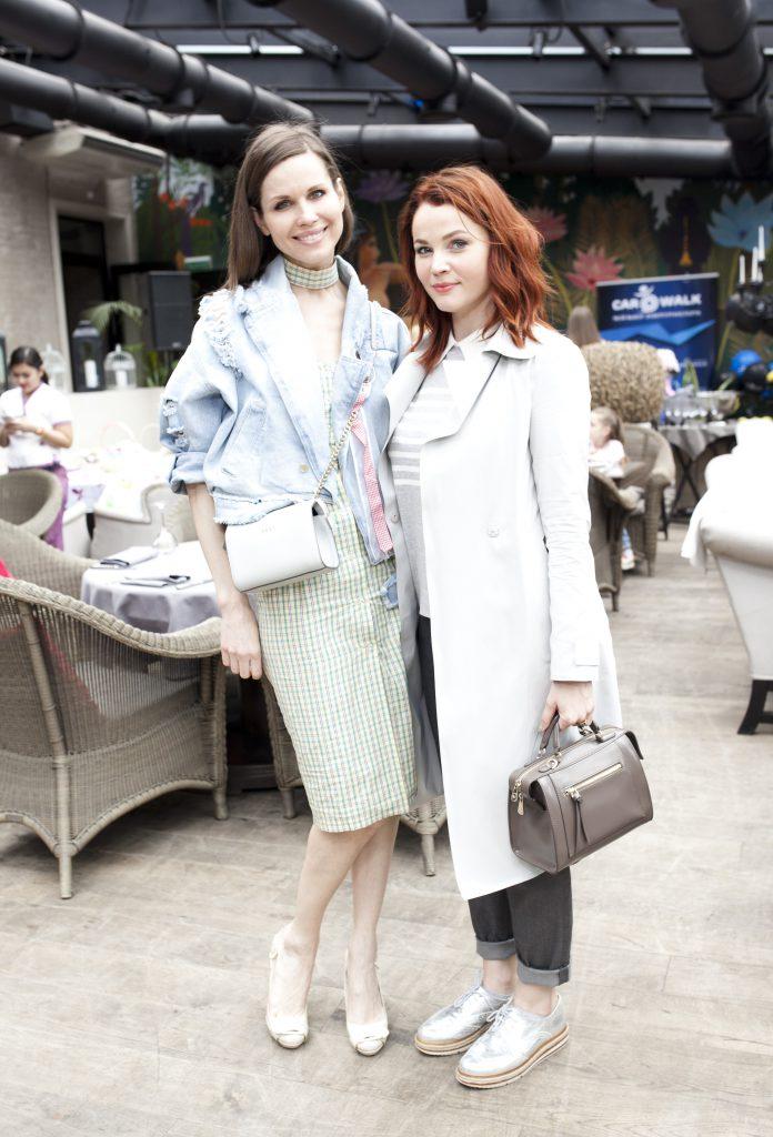 Наталья Лесниковская и Екатерина Вуличенко