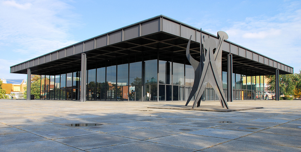 Новая национальная галерея Берлина Neue Nationalgalerie