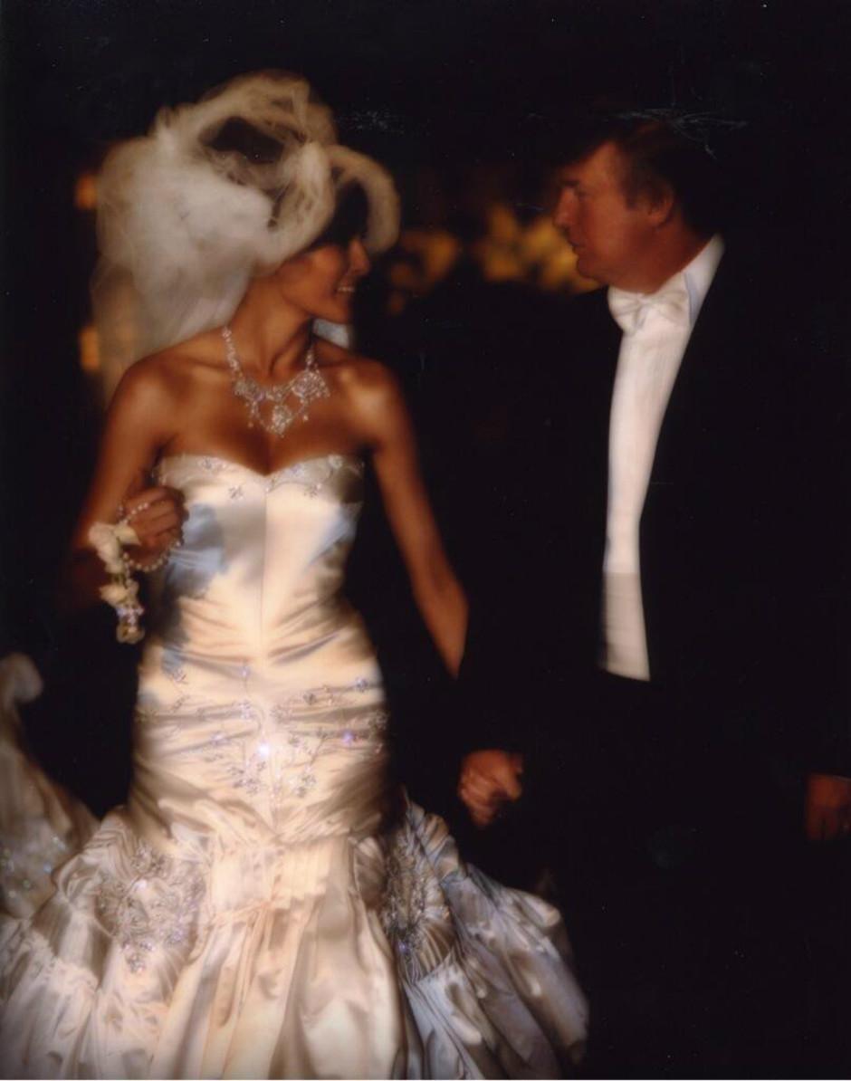 Свадьба Мелании и Дональда