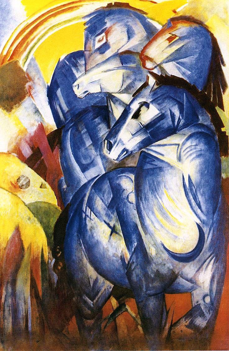 «Башня синих лошадей»