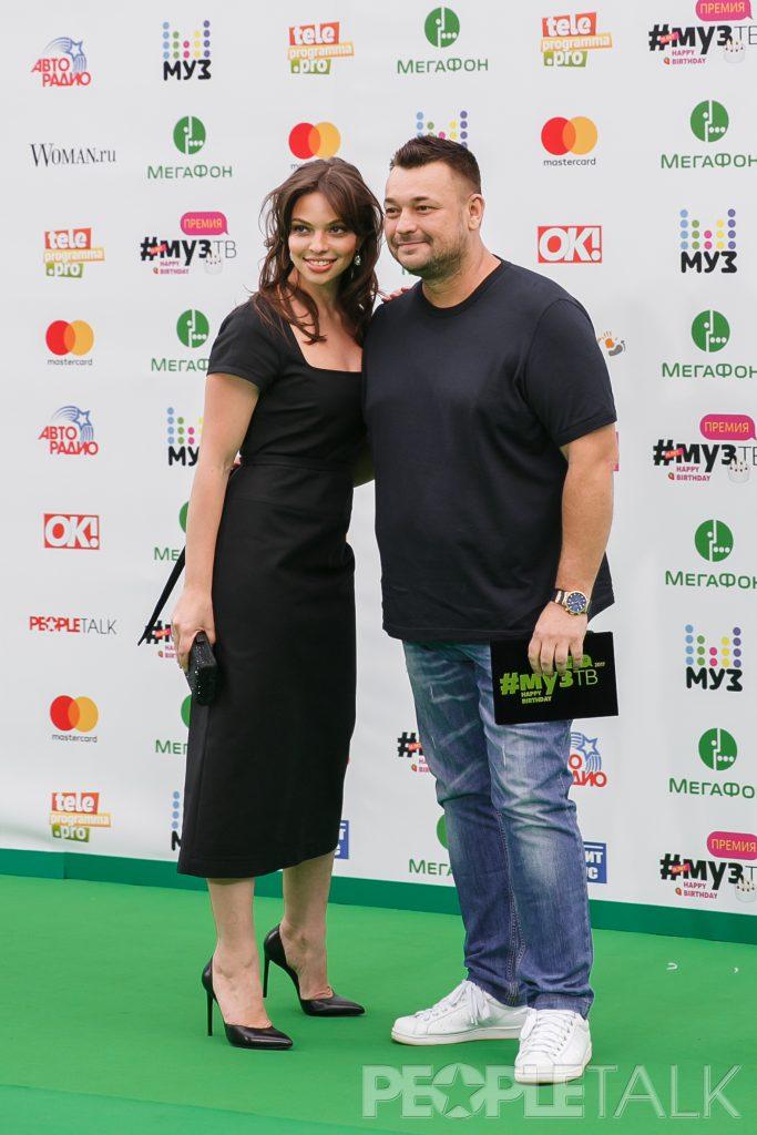 Сергей Жуков с супругой