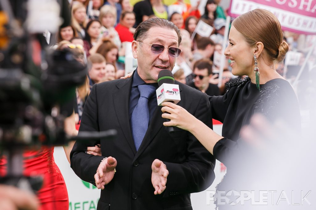 Григорий Лепс и Ксения Собчак