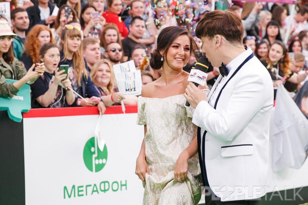 Нюша и Максим Галкин