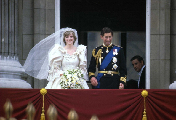 Свадьба Чарльза и Дианы