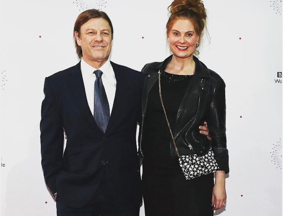 Шон Бин и Эшли Мур