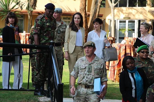UNHCR Special Envoy Angelina Jolie visits refugees in Kenya