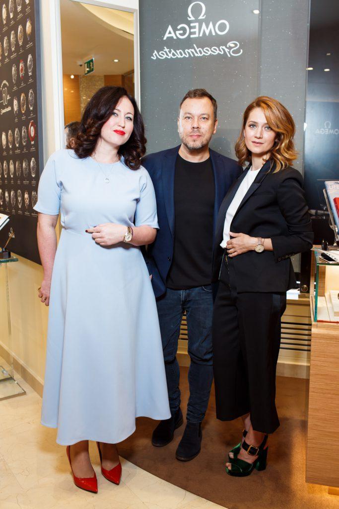 Александра Лутц, Игорь Чапурин и Виктория Исакова
