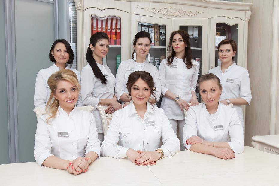 Команда врачей-специалистов клиники эстетической медицины Ольги Мороз