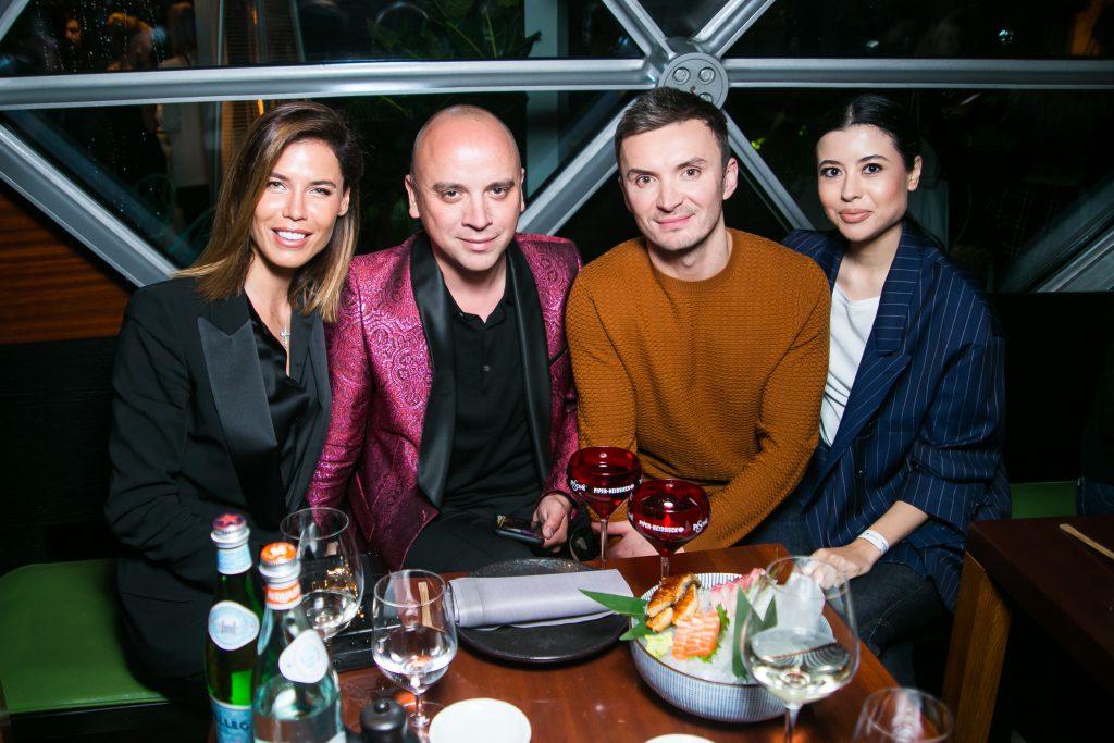 Ксения Лукаш, Иван Афанасьев, Евгений Заболотный и Анна Ивченко