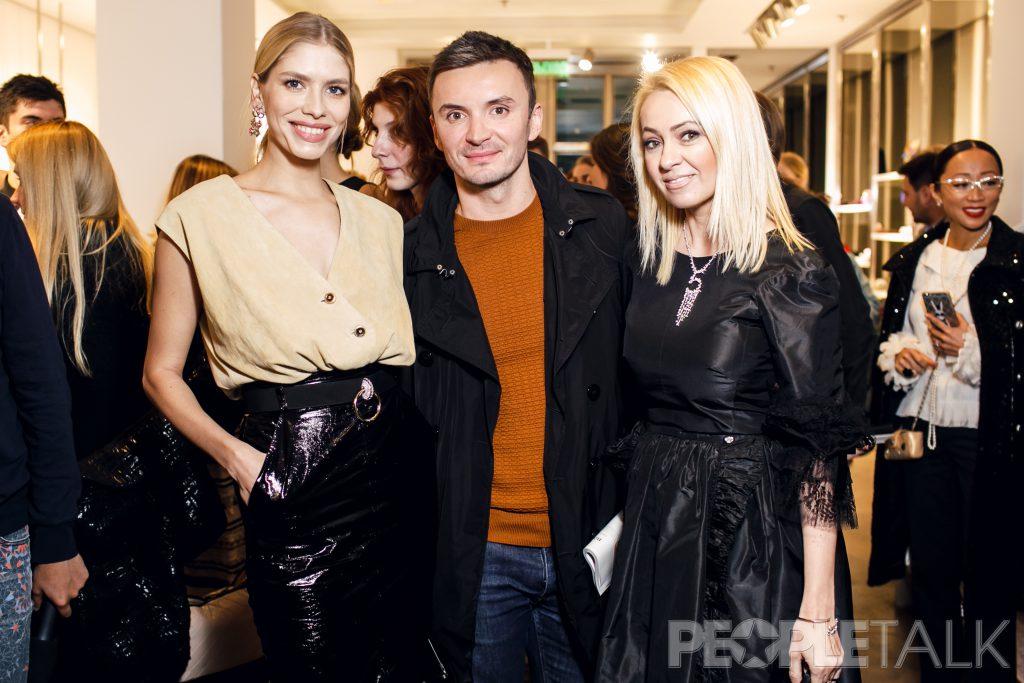 Елена Перминова, Евгений Заболотный и Яна Рудковская