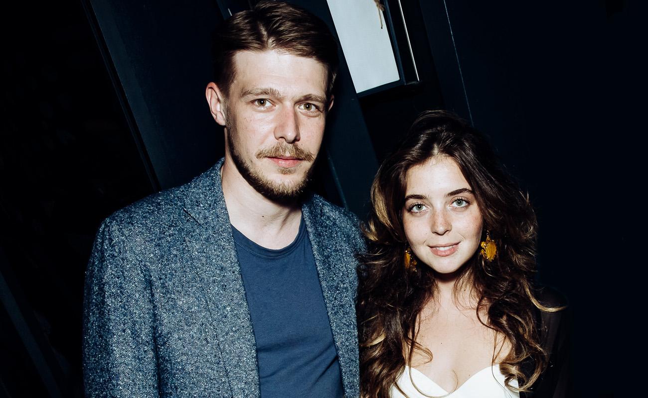 Никита Ефремов и Александра Фрид на закрытом показе фильма «Заложники»