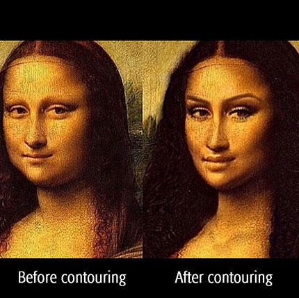 До и после контуринга