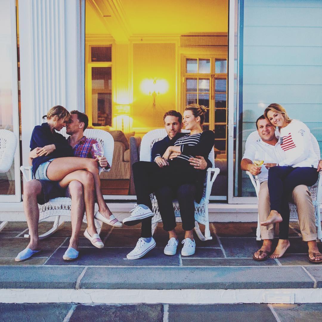 Тейлор Свифт и Том Хиддлстон, Блейк Лайвли и Райан Рейнольдс, Брит Мак с мужем