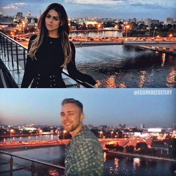 Карла Дибелло и Егор Крид