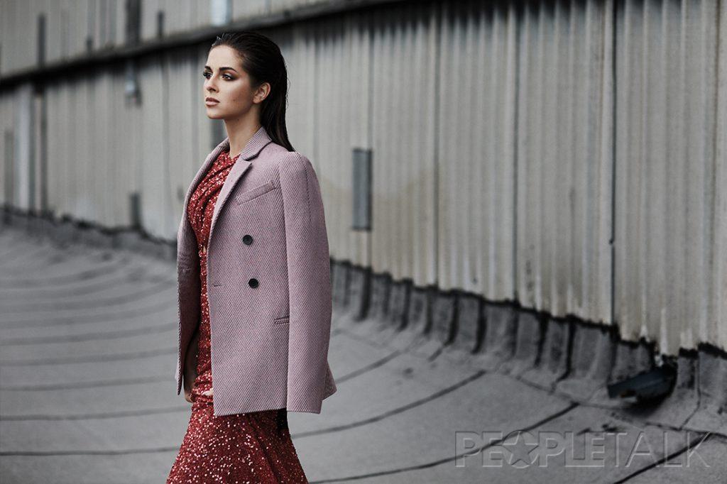 Жакет, Dior; платье, CHAPURIN