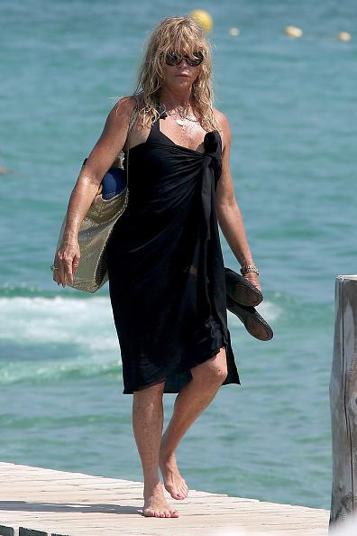 Голди Хоун во Франции в 2015 году