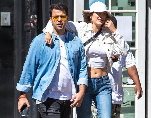 Белла Хадид и Дэниэль Четрит в среду в Нью-Йорке