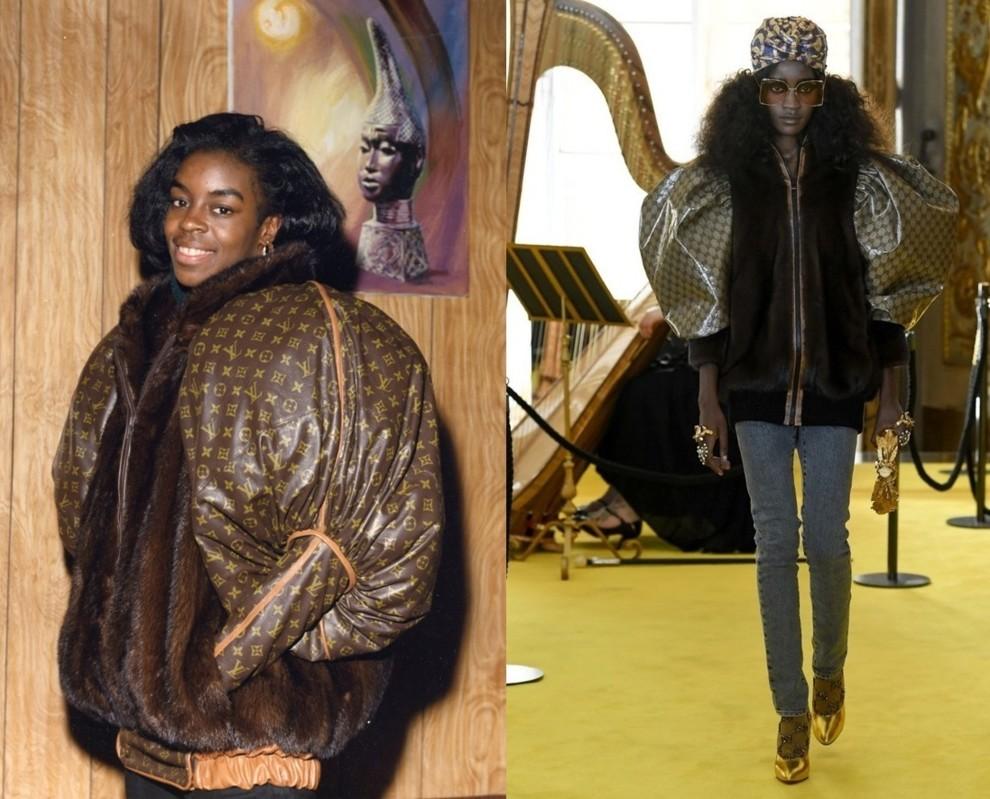 Работа Дэниела Дэя, 1988 год / показ крутизной коллекции Gucci, 2018