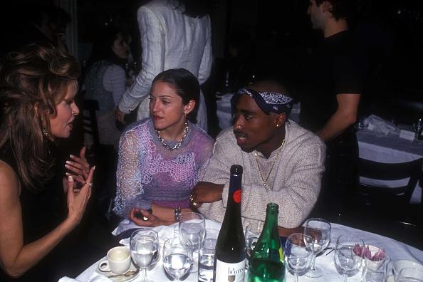 Мадонна и Тупак Шакур