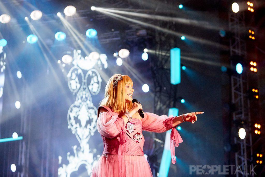 Алла Пугачева на фестивале «Жара»