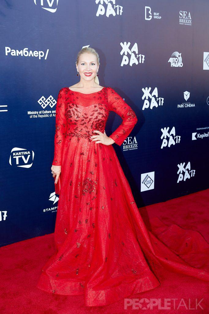 Екатерина Одинцова в платье Tony Ward