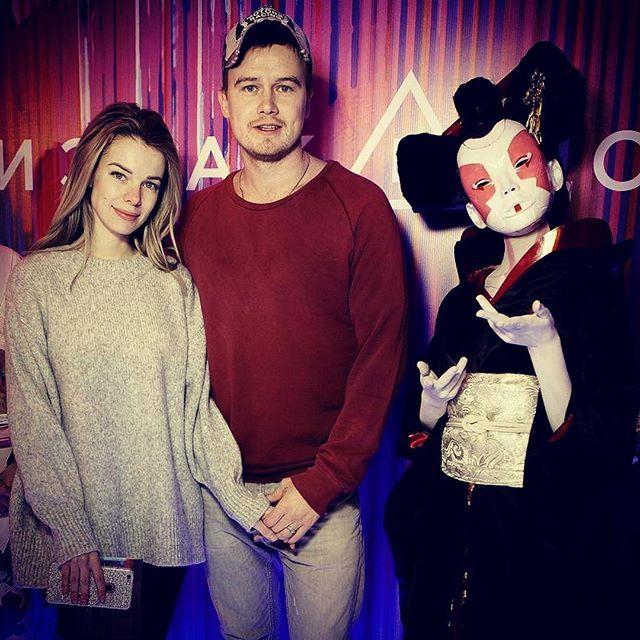 Анна Старшенбаум с мужем Алексеем Бардуковым