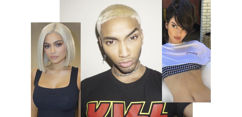 На них нужно подписаться: стилист по волосам, который делает прически семье Кардашьян