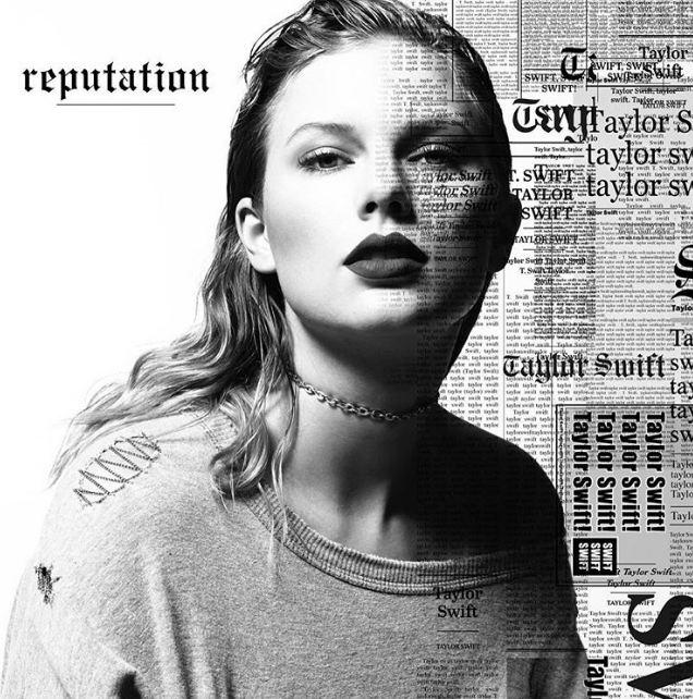 Обложка нового альбома Тейлор Свифт Reputation