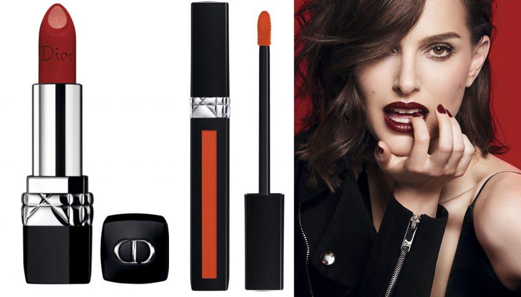 Помады Rouge Liquid и Double Rouge, Dior