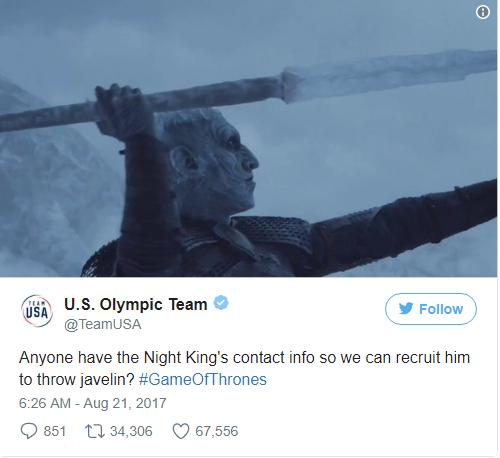 Олимская команда: Эй, у кого-нибудь есть его телефон, мы хотим нанять его.