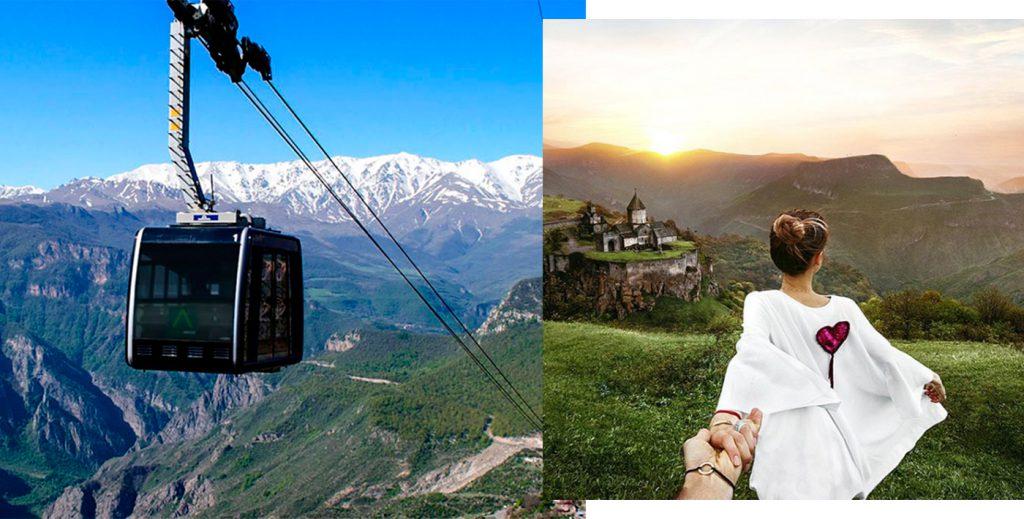 «Крылья Татева»; Наталья Османн на фото @muradosmann Всего три дня на отпуск? Мы знаем, куда ехать! Всего три дня на отпуск? Мы знаем, куда ехать! 4 5 1024x519