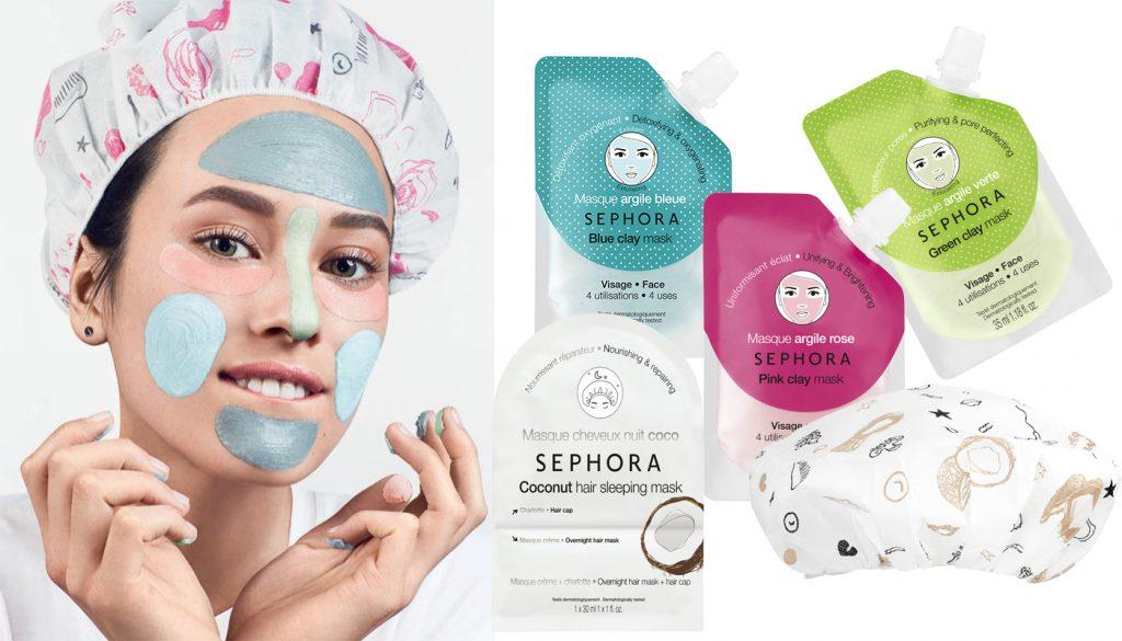 Очищающая маска sephora