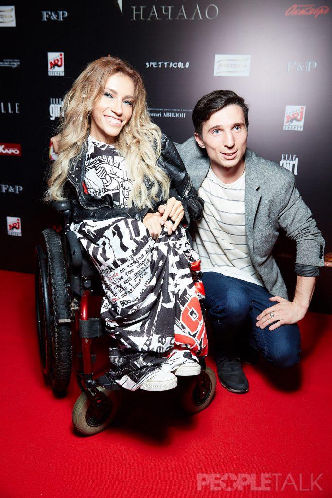 Юлия Самойлова с мужем Алексеем