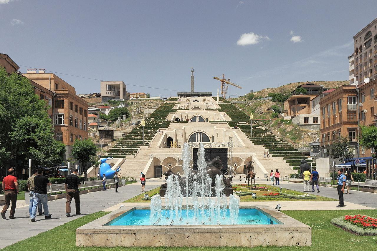 Большой Каскад в Ереване