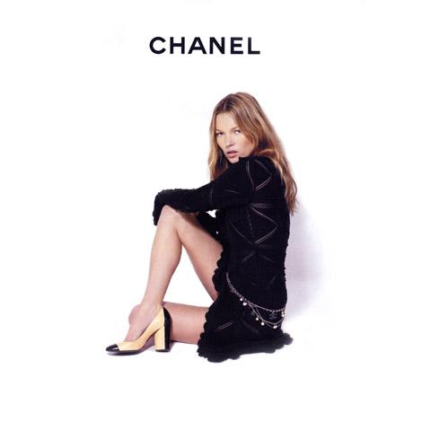 Кейт Мосс в рекламной кампании Chanel