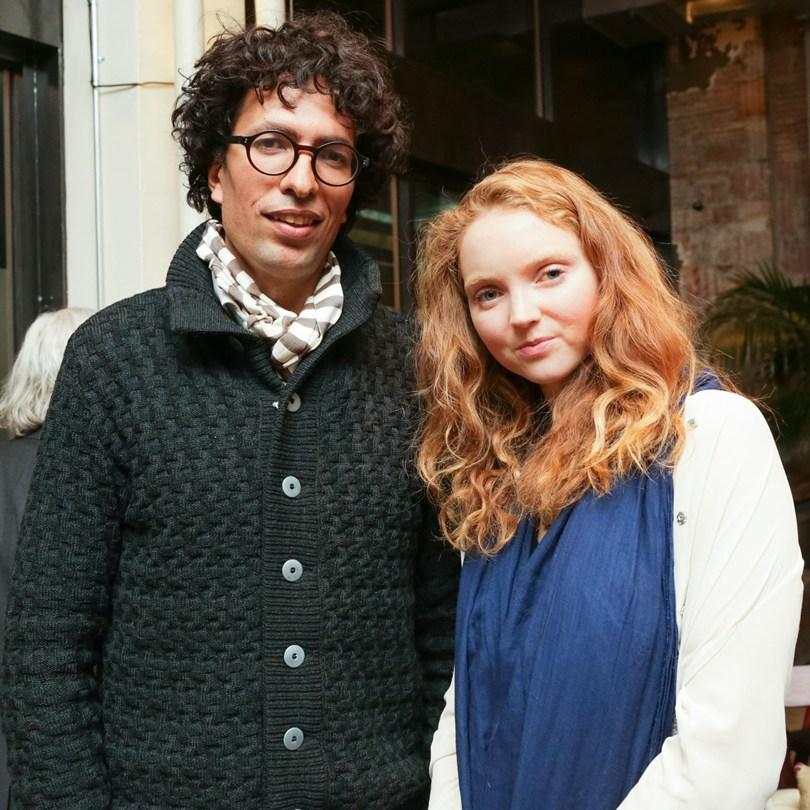 Лили Коул и Кваме Феррейра, португальский программист и  генеральный директор агентства Kwamecorp