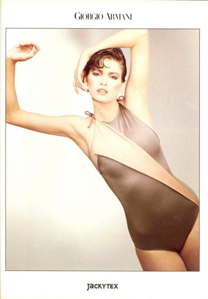 Джиа Каранджи в рекламной кампании Giorgio Armani